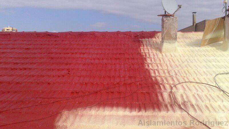 Proyeccion poliuretano poliuretano propiedades for Pintura de poliuretano